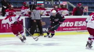 Турнир пяти наций-2017. U17. Россия– США  3:4