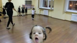 Видео-урок (I-семестр: декабрь 2016г.) - филиал Оборона, группа 4-6 лет, Детский танец