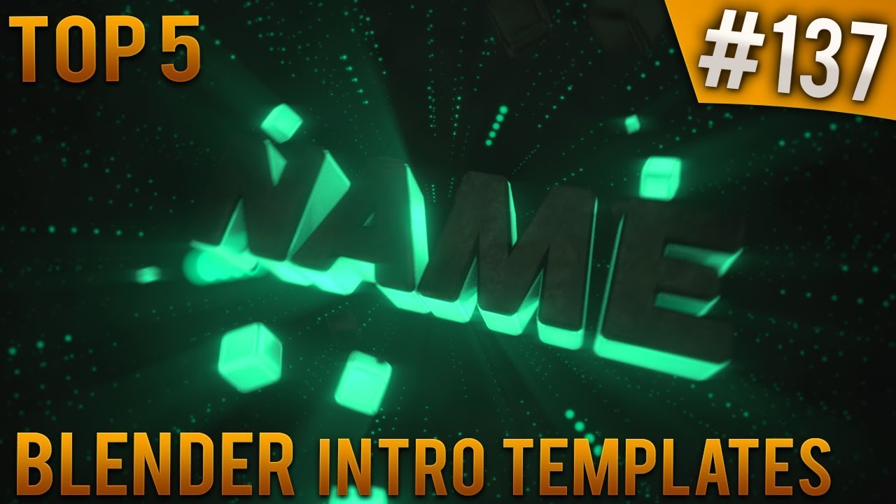 top 5 blender intro templates 137 free download