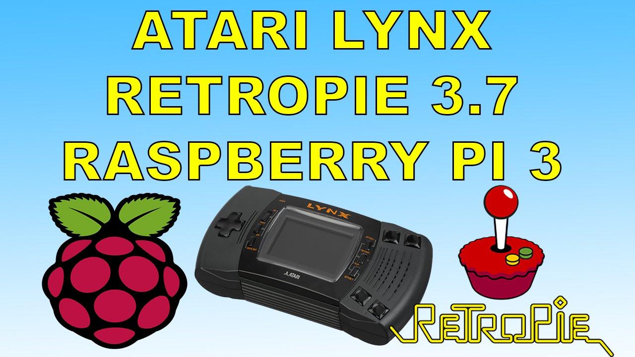Atari Lynx Emulator Running On Retropie 3 7 Raspberry pi 3
