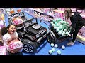 100 LOL Surprise Dolls Toy Hunt At Smyths Toys Store - Power Wheels Ride On Car