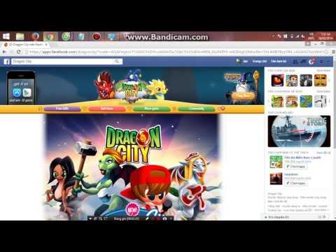 cách hack game dragon city trên facebook - hd hack 99999999 gem dragoncity tren facebook