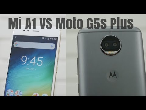 Mi A1 vs Moto G5s Plus 15 Point Comparison - Which is Better?