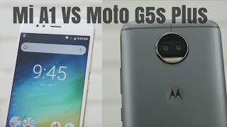 Mi A1 vs Moto G5s Plus 15 Point Comparison - Which is Better?