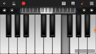 Lagir Jhal Ji song on piano