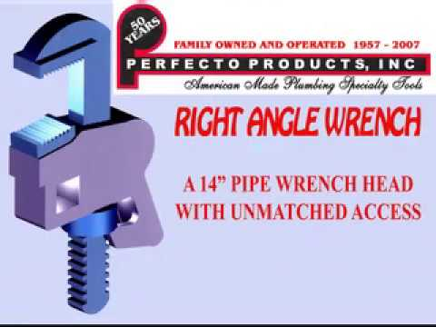 Perfecto Right Angle Pipe Wrench  sc 1 st  YouTube & Perfecto Right Angle Pipe Wrench - YouTube