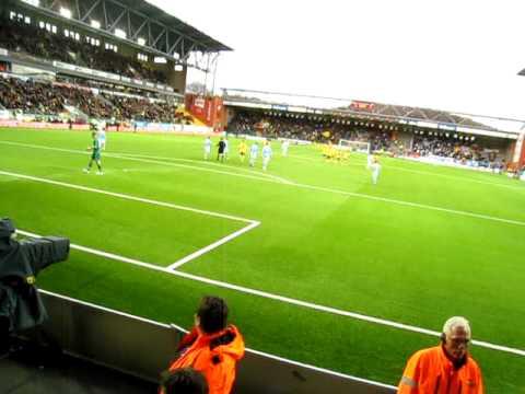 IF Elfsborg - Malmö FF, Denni Avdic sätter straffen