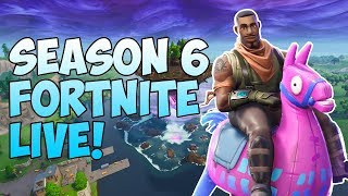 🔴705+ Wins - Fortnite LIVE: - Season 6 Battle Pass GRIND - Xbox One Player! #FaZe5