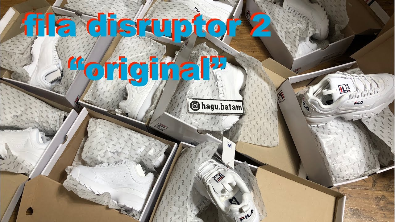 Fila disruptor 2 indonesia review (ig  hagu.batam) - YouTube b36a90f985
