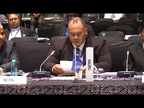 Nauru Country Statement, FAO APRC 34, 2018