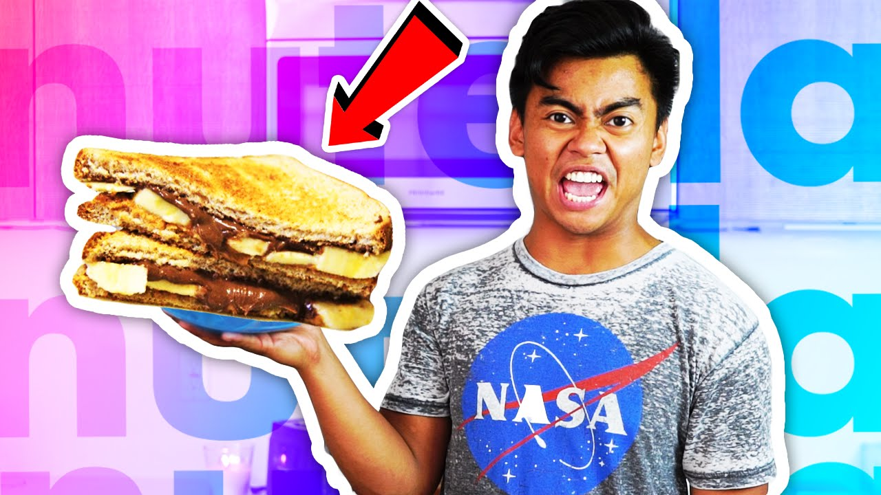 Download DIY How To Make NUTELLA SANDWICH!