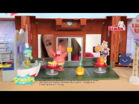 Spongebob Krusty Krab Spot TV Natale 2013 Simba Toys Italia