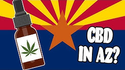 Where To Buy CBD Oil In Arizona - Is CBD Legal In Arizona?