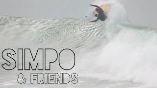 Brett Simpson & Friends | Surfing Huntington Beach Pier 2/3/15