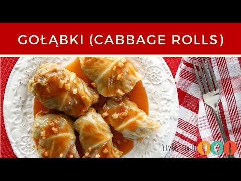 POLISH CABBAGE ROLLS GOŁĄBKI | YumDelectable