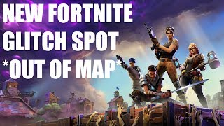 FORTNITE- NEW GLITCH SPOT (OUT OF MAP) (IN WATERFALL)
