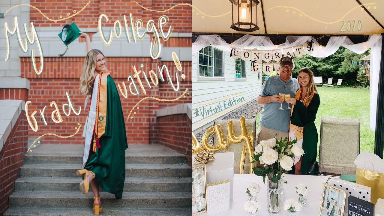 I *virtually* graduated college & take you on a trip down memory lane...