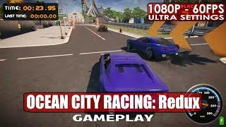 OCEAN CITY RACING: Redux gameplay PC HD [1080p/60fps]