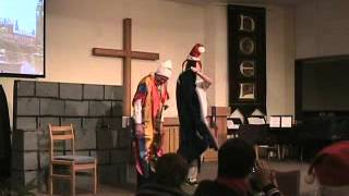 """A Christmas Carol"" - A Two-Man Production - New Hope Lutheran Church 12-15-13"