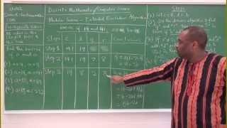 GCD and Modular Inverse: Extended Euclidean Algorithm - Part 1