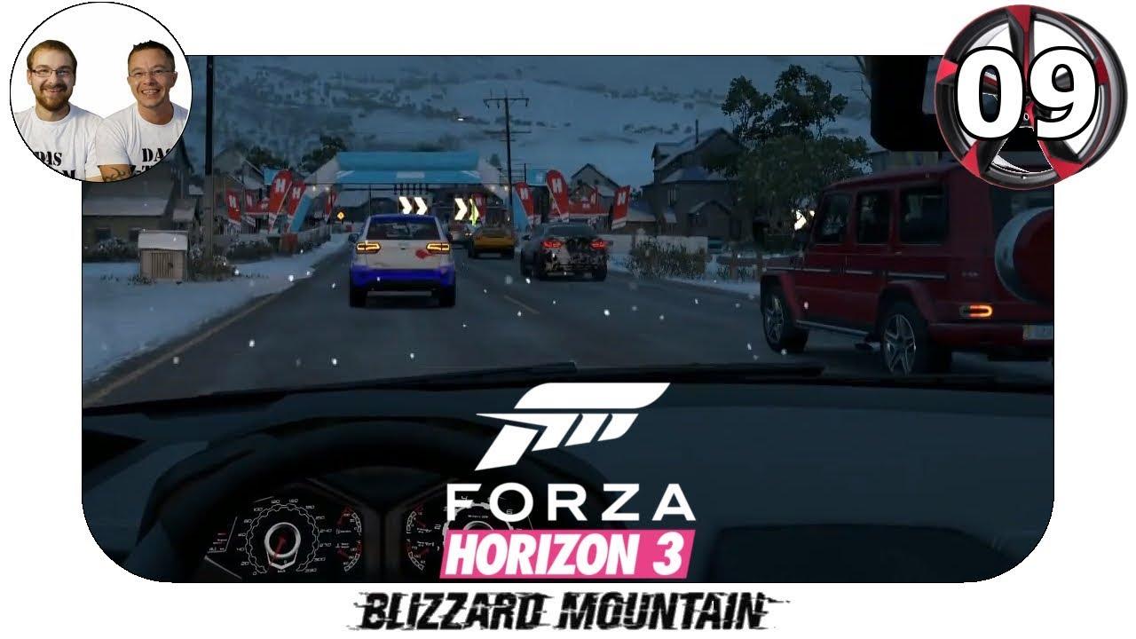 blizzard mountain let 39 s play schneem nner gameplay deutsch forza horizon 3 fh3 bm 9. Black Bedroom Furniture Sets. Home Design Ideas
