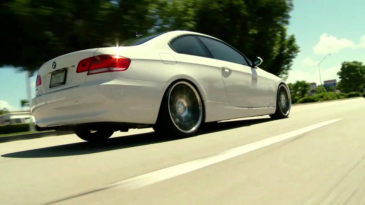 Bmw 3 Series 328i Coupe On 20 Quot Vossen Vvs Cv2 Concave