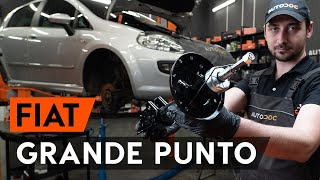 Монтаж на предни Макферсон на FIAT GRANDE PUNTO: видео наръчници