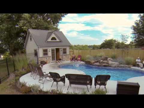 Homestead Structures Ed Hollis Testimonial - Heritage Pool House