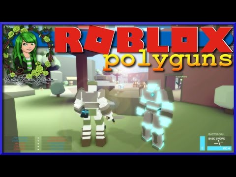 I KNOW HOW TO DO THIS | Let's Play ROBLOX | Polyguns | with My Son John | SallyGreenGamer