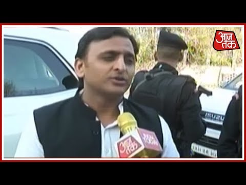 आज सुबह: Akhilesh Yadav Exclusive Inteview