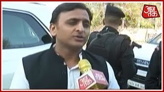 आज सुबह: Akhilesh Yadav Exclusive Inteview