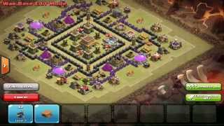 "Clash Of Clans | ""Vortex"" Clan War/Trophy Base 