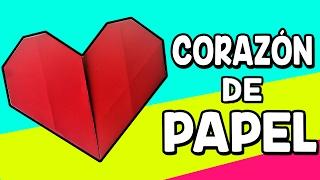 ► ORIGAMI: COMO HACER UN CORAZÓN DE PAPEL ◄