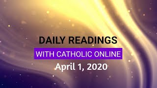 Gambar cover Daily Reading for Wednesday, April 1st, 2020 HD