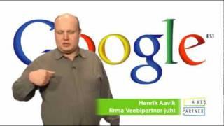 Veebipartner: Proovi Google AdWordsi tasuta(, 2010-03-24T08:47:25.000Z)