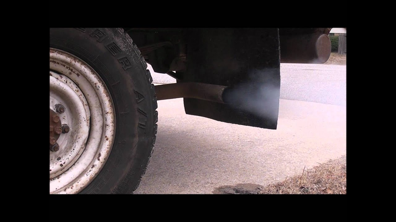 Thrush Turbo Muffler In A Chevy 350 Sbc Youtube Buick V8 Engine Diagram