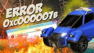 Error 0xc000007b en Rocket League Fixed #TORGADDON