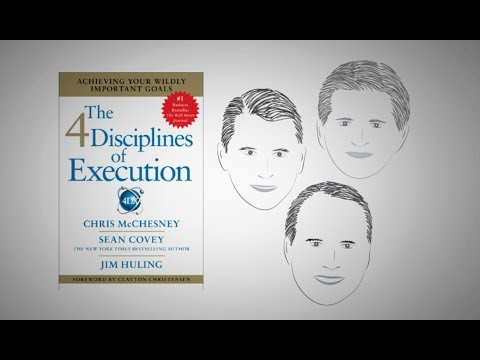 THE 4 DISCIPLINES OF EXECUTION by C. McChesney, S. Covey, and J. Huling | ANIMATED CORE MESSAGE