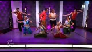 NATARANG Dance Group in God Morgen Norge - TV2 Norway - Bollywood Festival 2014 part 2