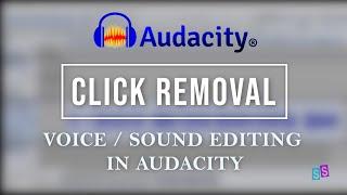 AUDACITY TUTORIAL | Remove Clicks Noise for Audio Voice | S.Sulianah