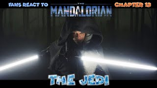 Fans react to The Mandalorian Chapter: 13 The Jedi (chain-reaction) careful spoilers