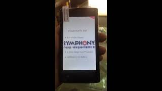 How to hard reset symphony e58