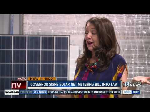 Contact 13 looks at Nevada making a rooftop solar comeback
