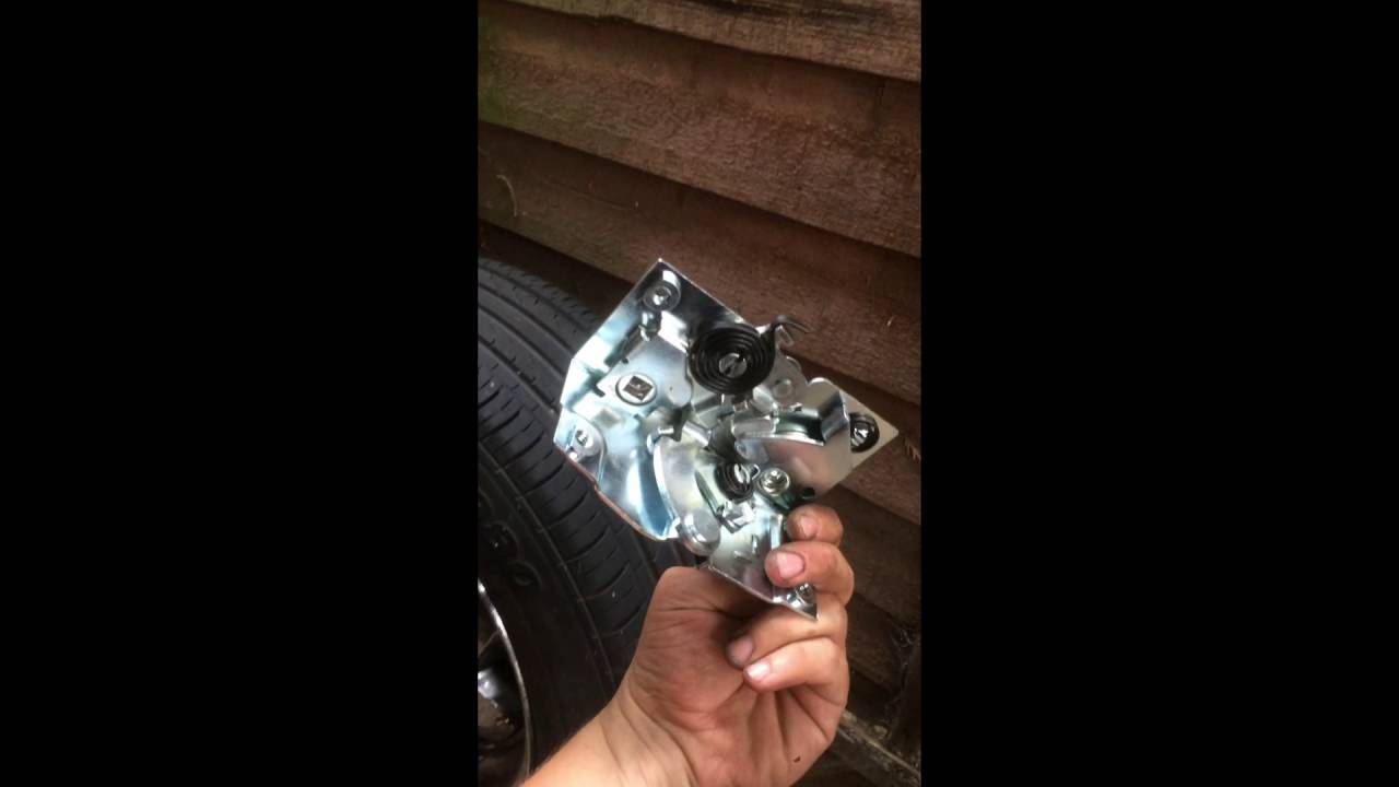 How To Replace 1948 1954 Chevy Door Latch Youtube