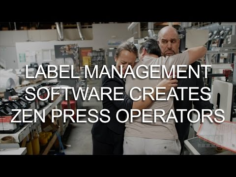 Label Management Software Creates Zen Press Operators