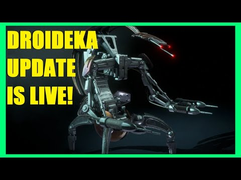THE DROIDEKAS ARE HERE! NEW BF2 UPDATE! STAR WARS BATTLEFRONT II LIVE