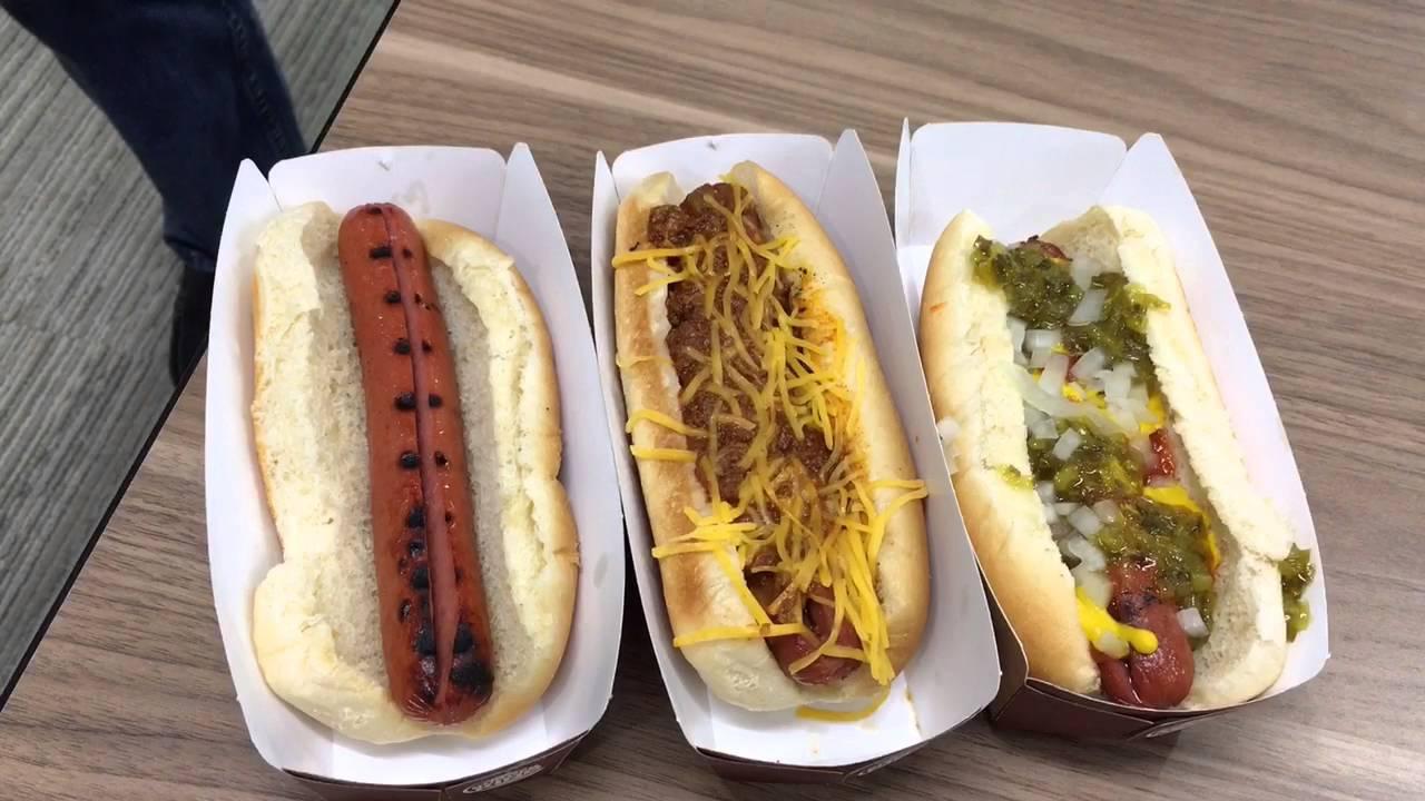 Burger King flame grilled Hot Dogs taste test - YouTube