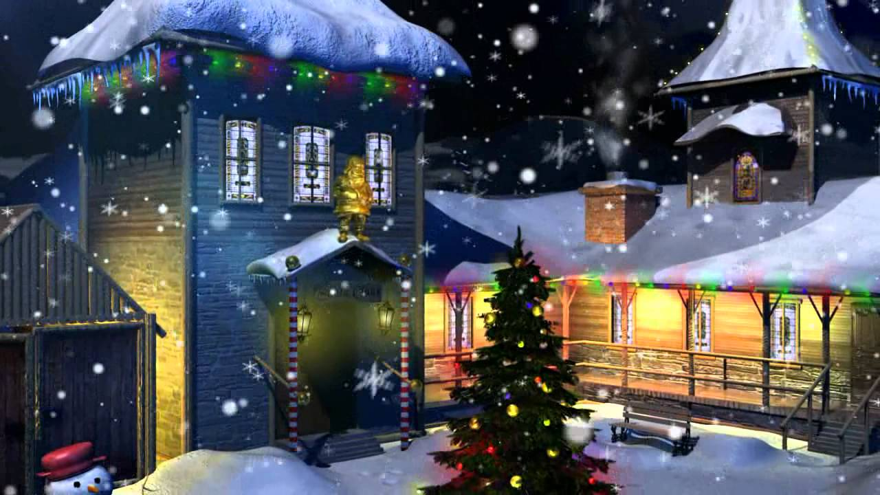 christmas screensaver HD 720 - YouTube