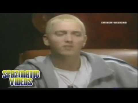 "The reason why Eminem disses Christina Aguilera on ""The Real Slim Shady."""