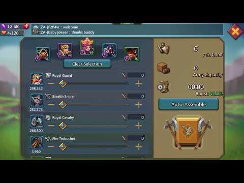 Teen Tp Ep.2 Ways To Farm Exp! Lords Mobile